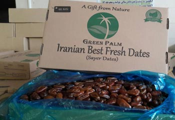 Iran Dates Import and Export