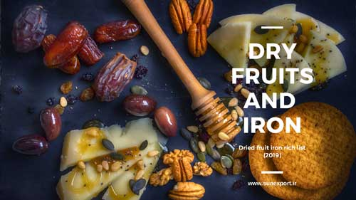 Dried fruits and Iron(Dried fruits iron amount list)