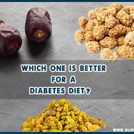 Date, Raisins AND Dried Berries Which One IS Better FOR A diabetes diet?  (2020)