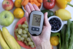 diabetes concept glucometer hand healthy food 120794 807 300x200 - Can You Eat Fruit If You Have Diabetes?