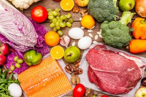 trending paleo pegan diet healthy balanced food concept 164638 8 300x200 - All about protein: What is it and how much do you need?