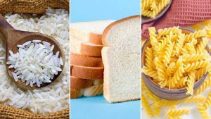 White Bread Pasta and Rice 300x169 - Foods and Drinks That Tend to Spike Blood Sugar
