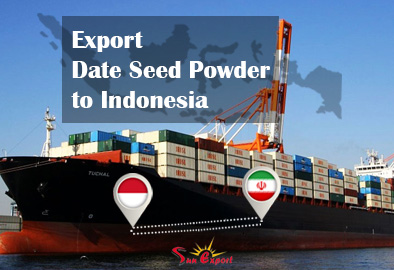 Export date seed powder to Indonesia