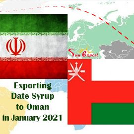 Exporting Date Syrup to Oman in January 2021