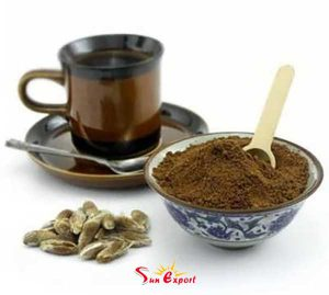 Roasted Date seed powder 300x269 - Export date seed powder to Indonesia